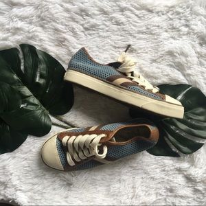 Michael kors suede lace up sneakers